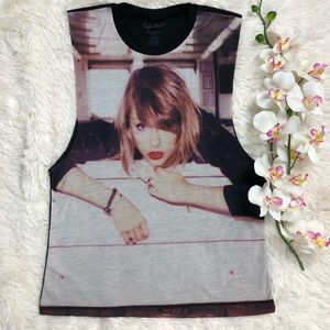 Taylor Swift 1989 Tour Players Tank Top Small
